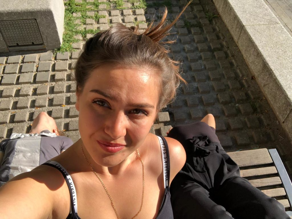 Anna volontaire slovaque